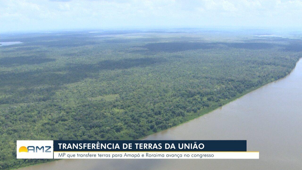 MP transfere terras da União para Roraima e Amapá
