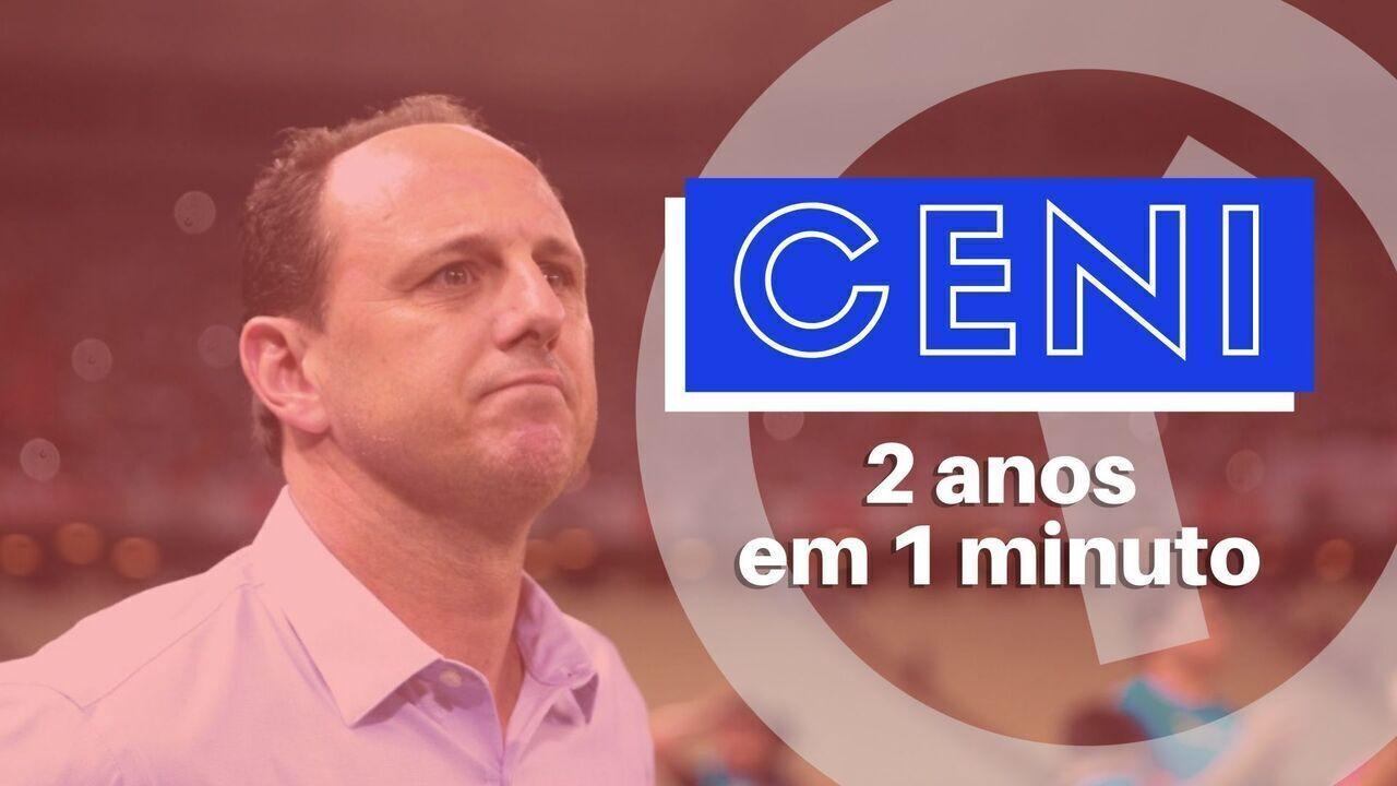 Dois anos em 1 minuto: a trajetória de Rogério Ceni no Fortaleza