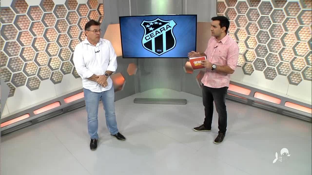 Confira entrevista ao vivo com o presidente do Ceará Robinson de Castro