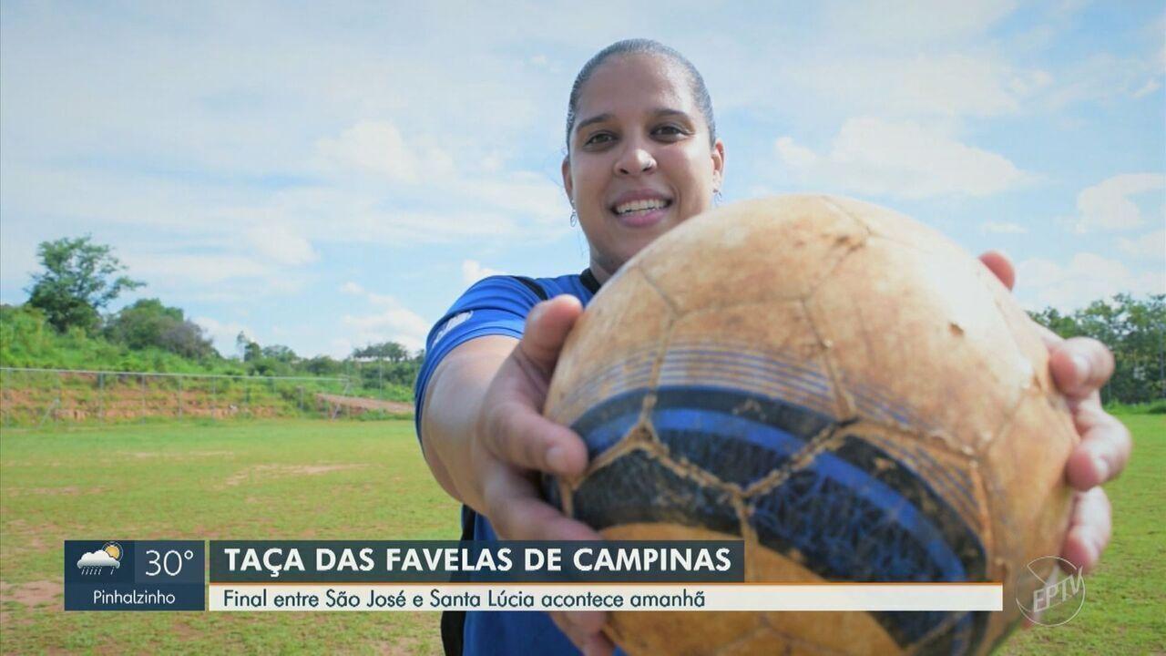 Final feminina da Taça das Favelas será primeira transmissão com narração feminina na EPTV