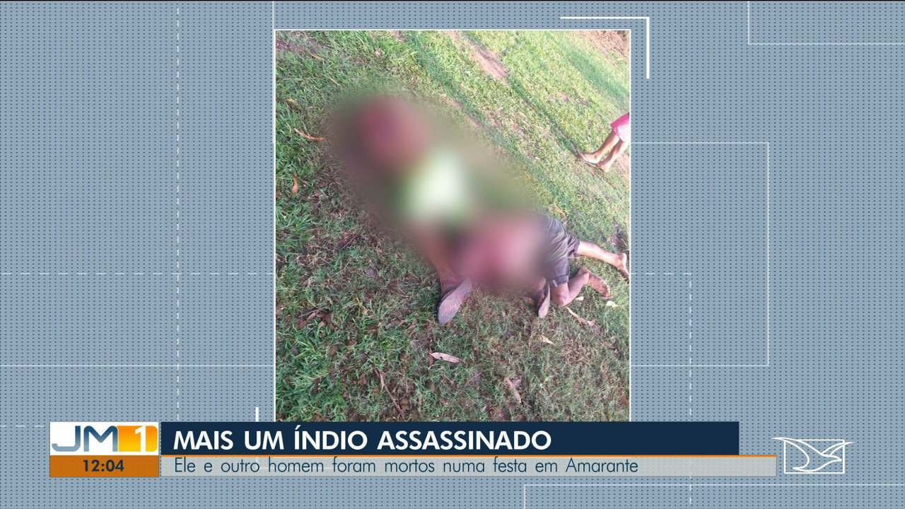 Índio Guajajara é assassinado em Amarante do Maranhão