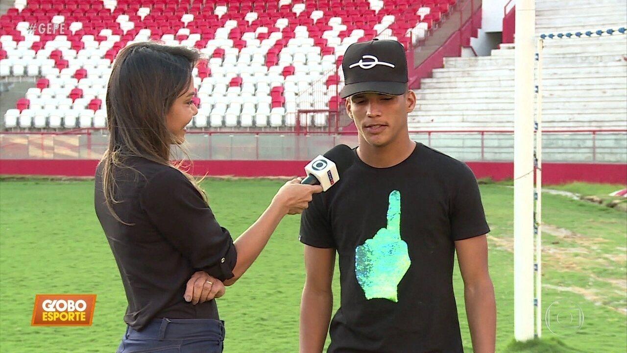 Vendido ao Flamengo, Thiago se despede do Náutico e lembra trajetória