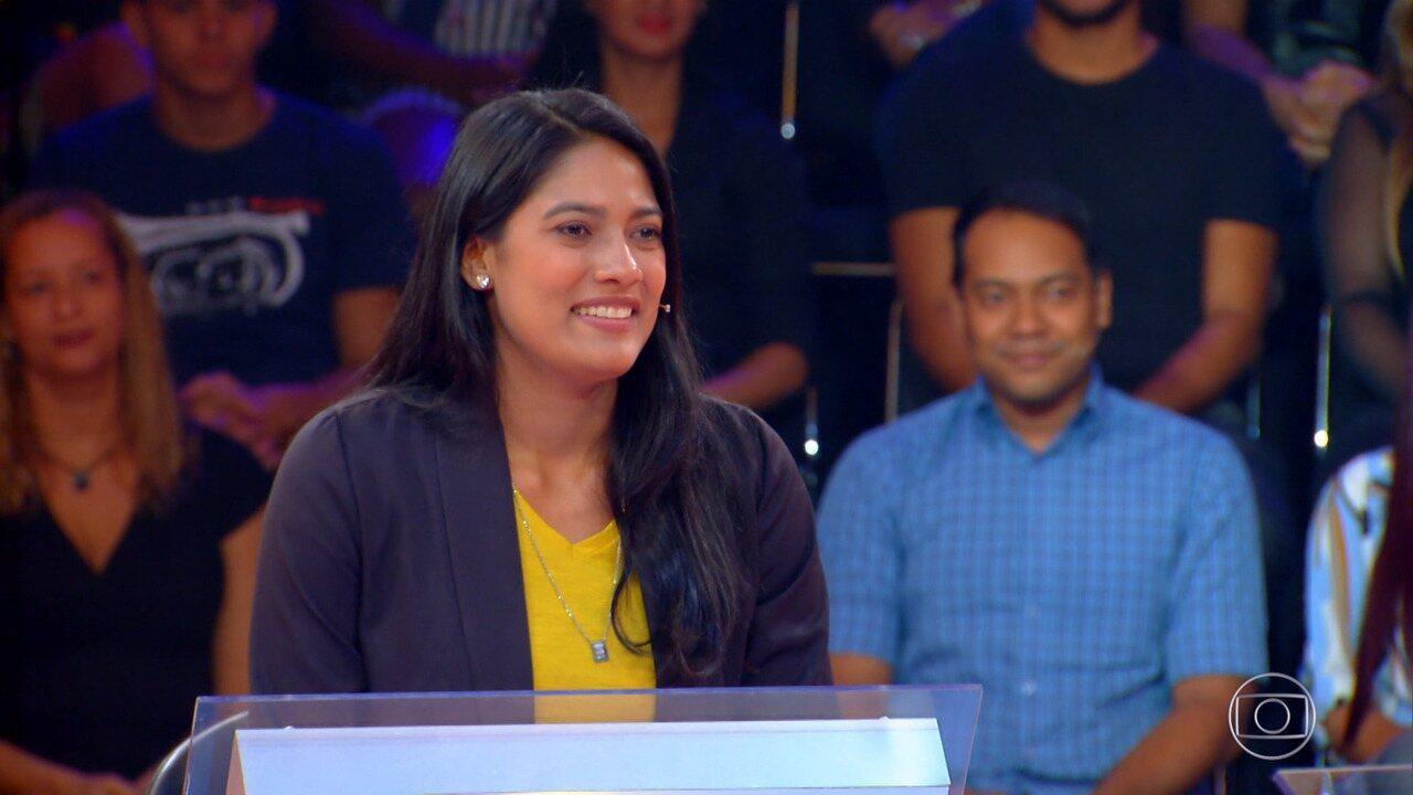 'Quem Quer Ser Um Milionário': Maiana Vieira tenta ganhar o prêmio de 1 milhão