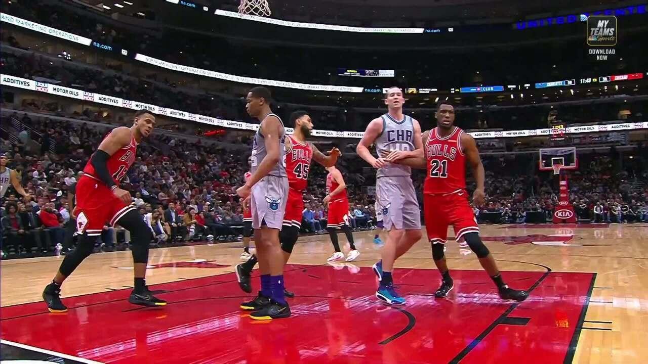 Melhores momentos de Charlotte Hornets 83 x 73 Chicago Bulls pela NBA