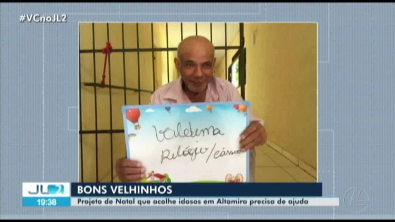 Projeto de natal acolhe idosos em Altamira