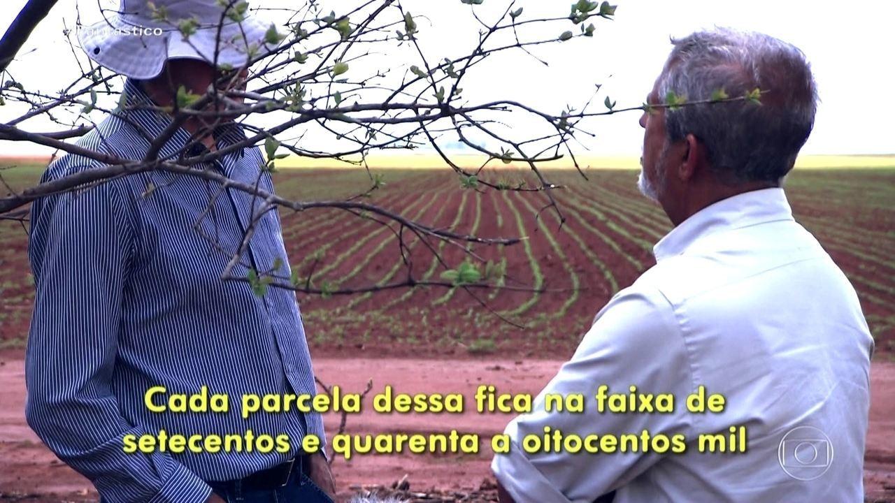 Fantástico mostra como comerciante se tornou um dos maiores latifundiários do Brasil