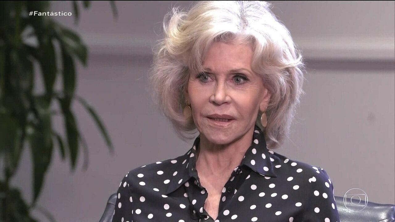 Jane Fonda: 'É hora de aumentar o ativismo, o que significa apelar pra desobediência civil