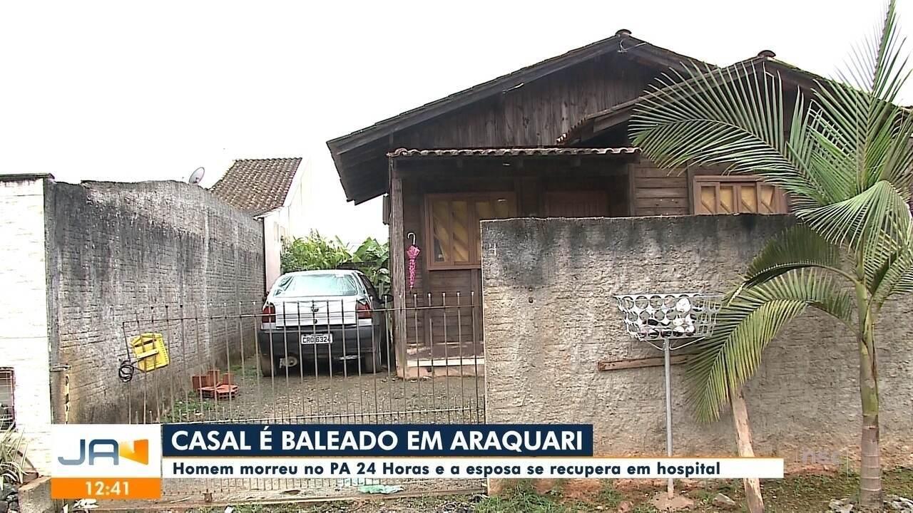 Homem é morto a tiros em Araquari