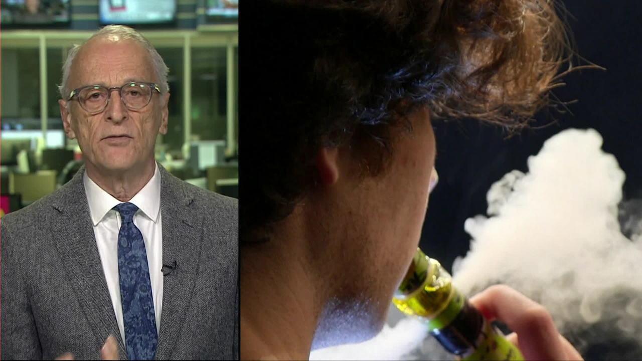 Cigarro eletrônico aumenta risco de doença pulmonar, diz pesquisa
