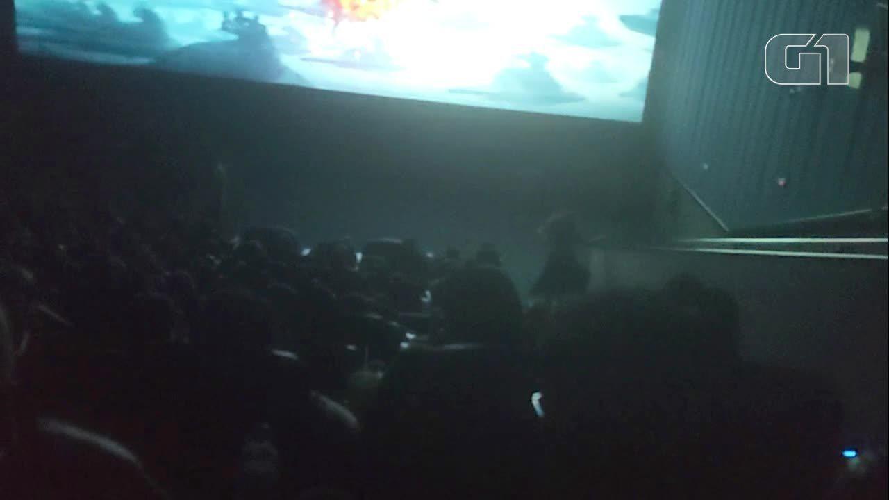 Fãs trocam socos durante exibição de 'Star Wars: A ascensão Skywalker' em Sorocaba