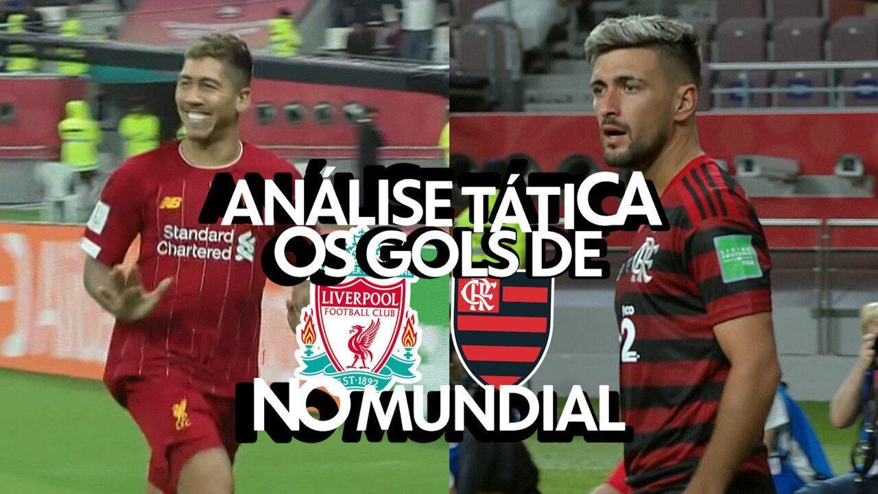 Análise tática: Os ataques letais de Liverpool e Flamengo