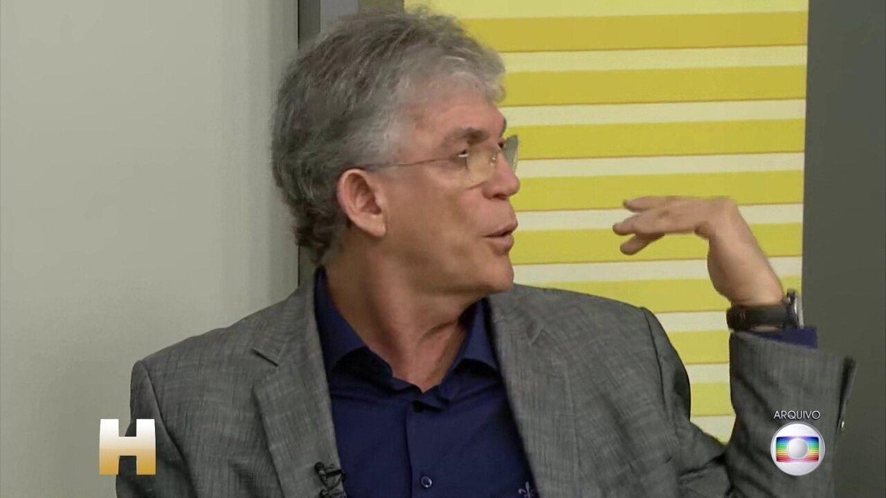 Justiça da Paraíba decide manter a prisão do ex-governador, Ricardo Coutinho, do PSB