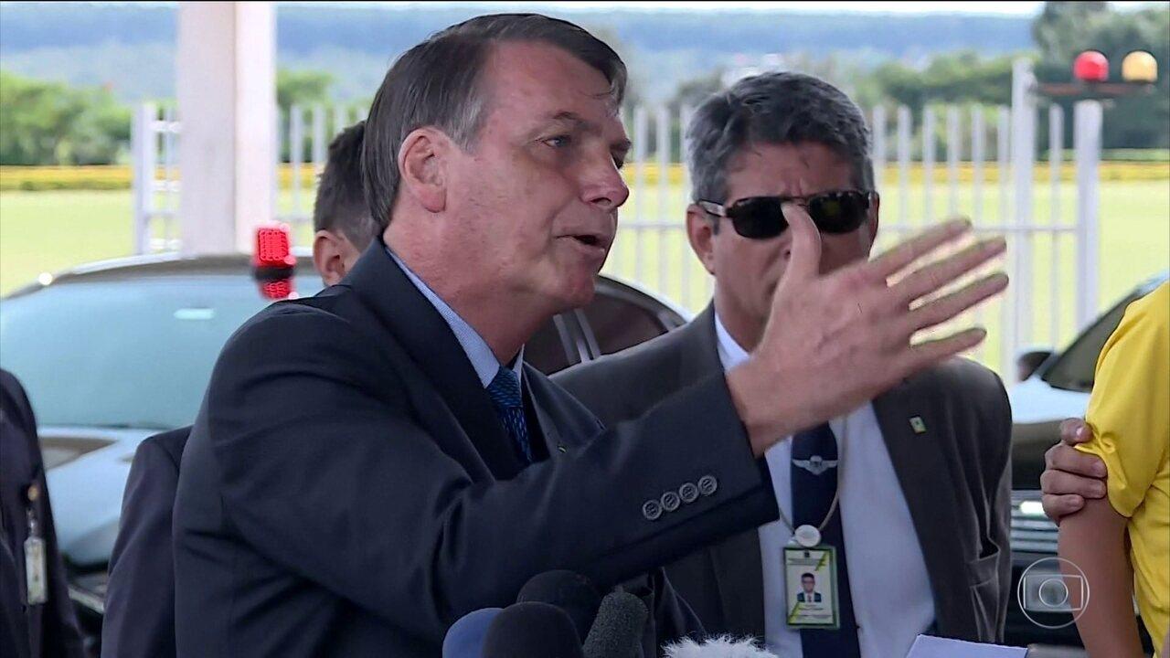 Entidades de jornalistas protestam contra postura de Bolsonaro com repórteres