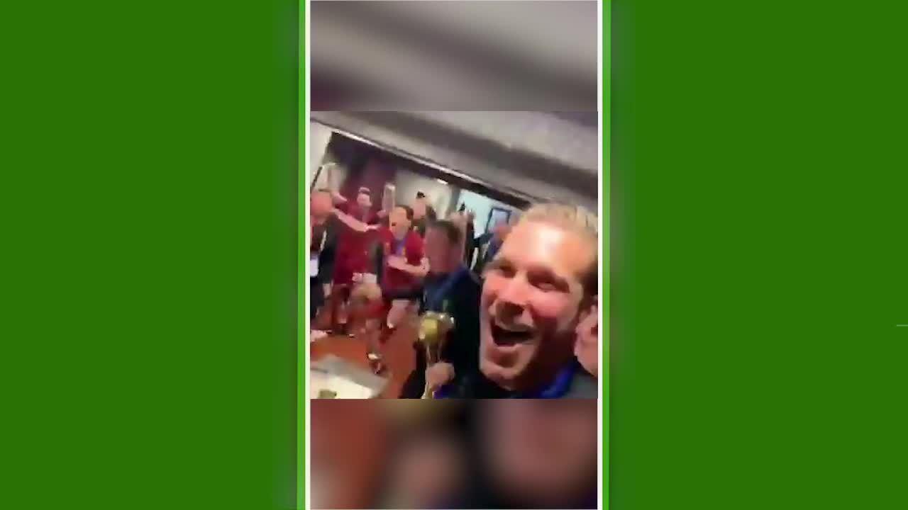 Veja a festa do Liverpool no vestiário após a conquista do Mundial de Clubes