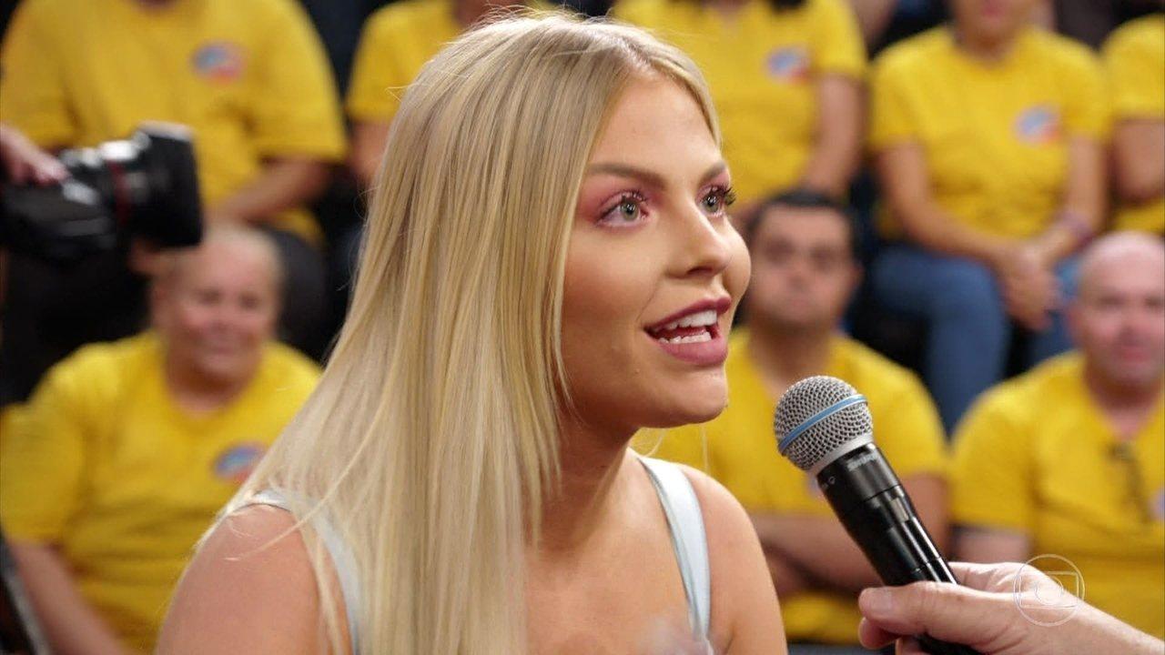 Luísa Sonza comemora participação no  'Dança dos Famosos 2019'