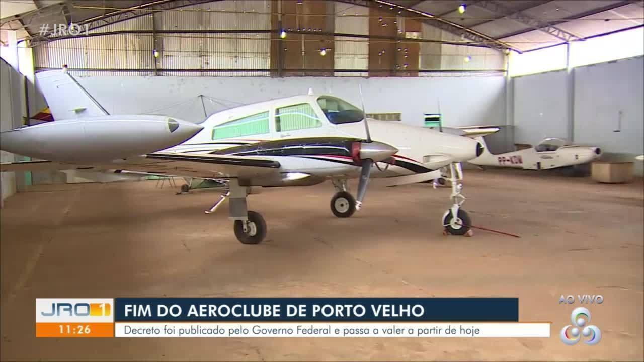 Fim do aeroclube de Porto Velho