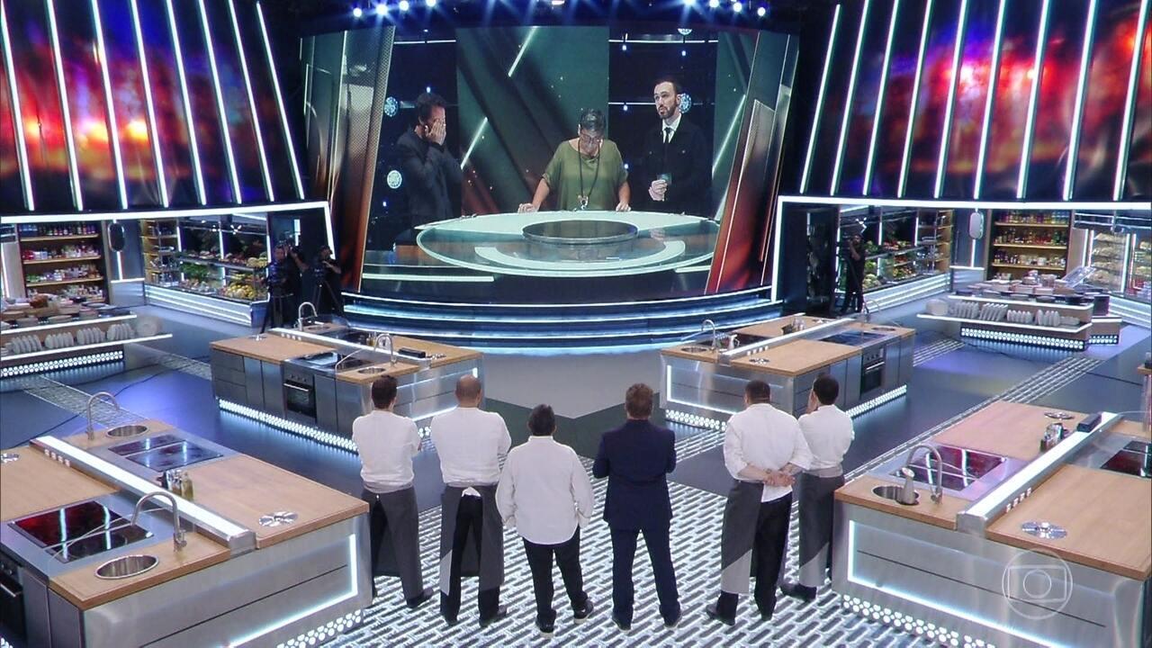 Mestres escolhem os dois cozinheiros que vão disputar a prova final