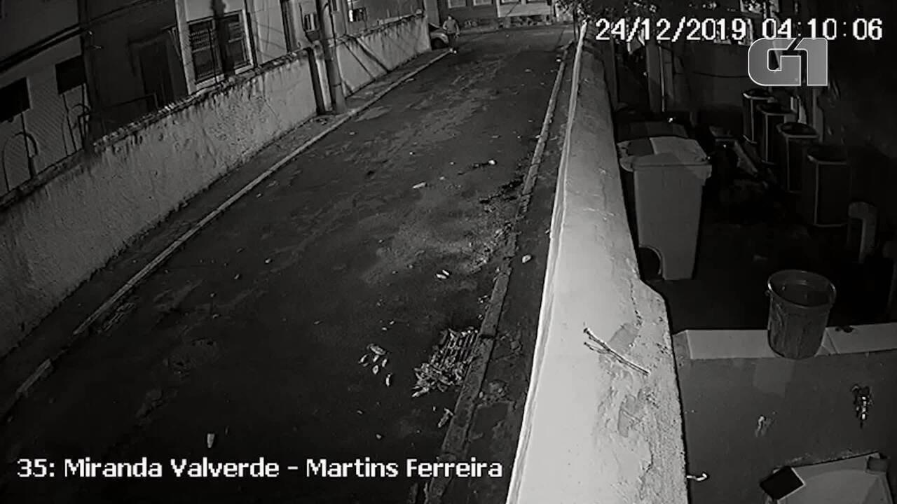 Imagens mostram suspeito de participar de ataque ao Porta dos Fundos