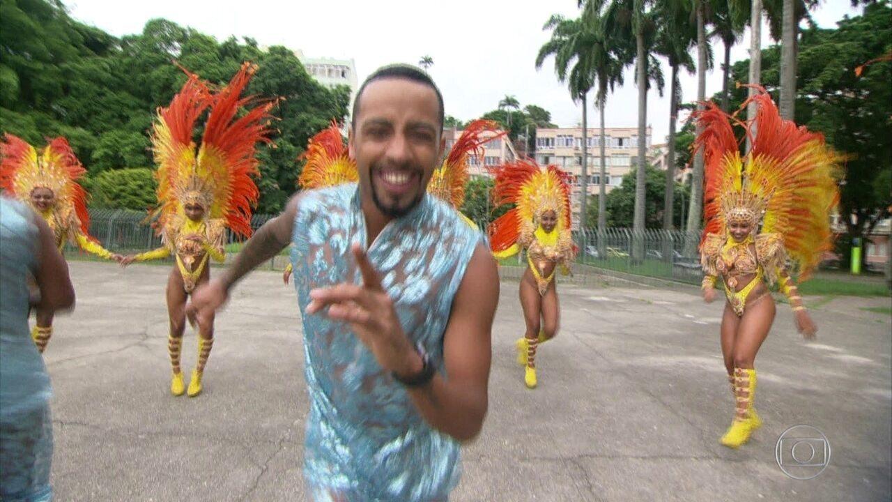 Enredo da Paraíso do Tuiuti homenageia padroeiro do Rio