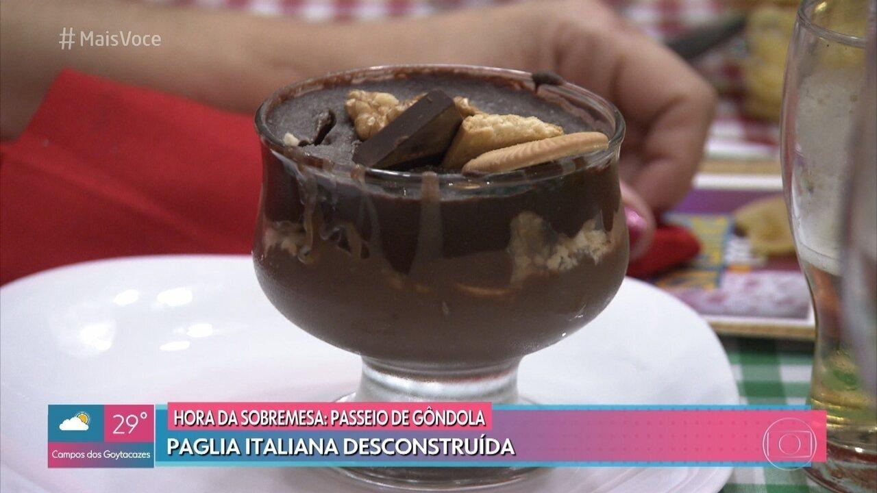 Sobremesa de Paola causa polêmica durante o jantar