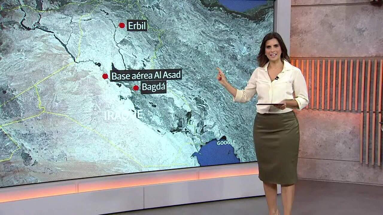 Entenda a importância das bases americanas atacadas pelo Irã