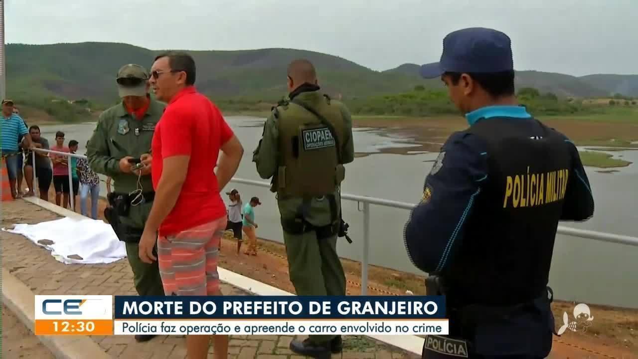 Polícia cumpre mandados sobre a morte do prefeito de Grangeiro