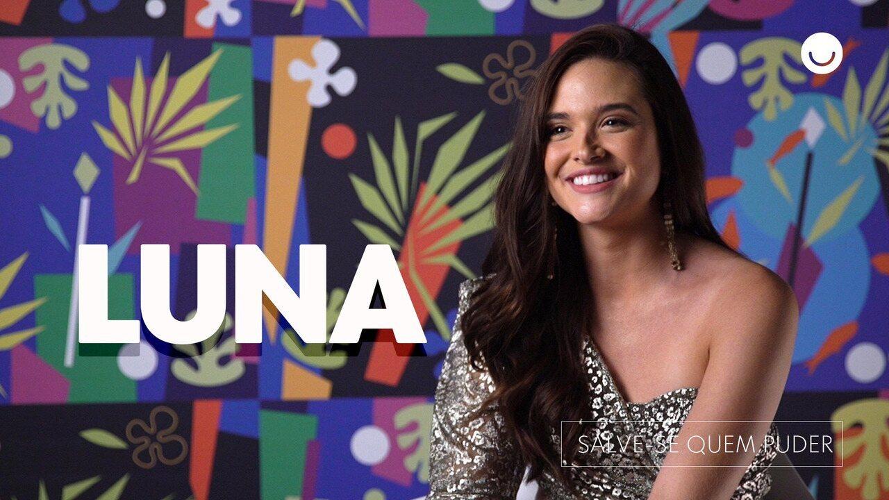 Juliana Paiva fala sobre Luna, sua personagem em 'Salve-se Quem Puder'