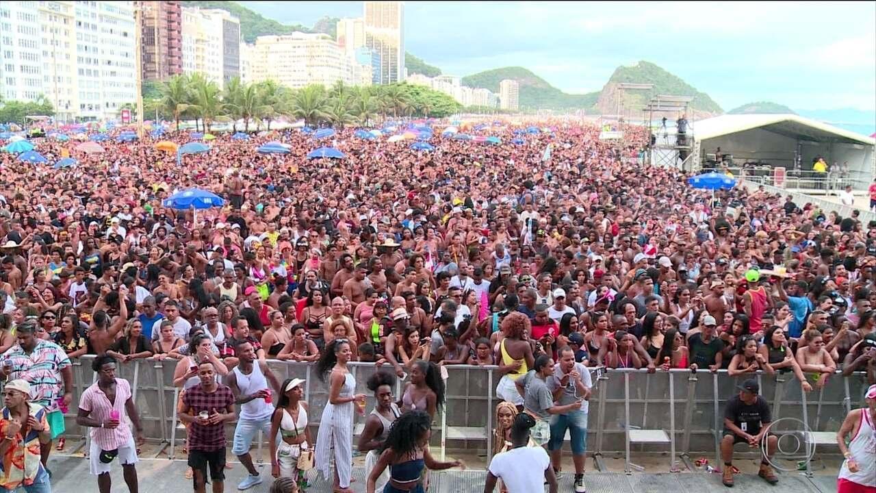 Começa oficialmente o pré-carnaval do Rio; Bloco da Favorita termina em confusão