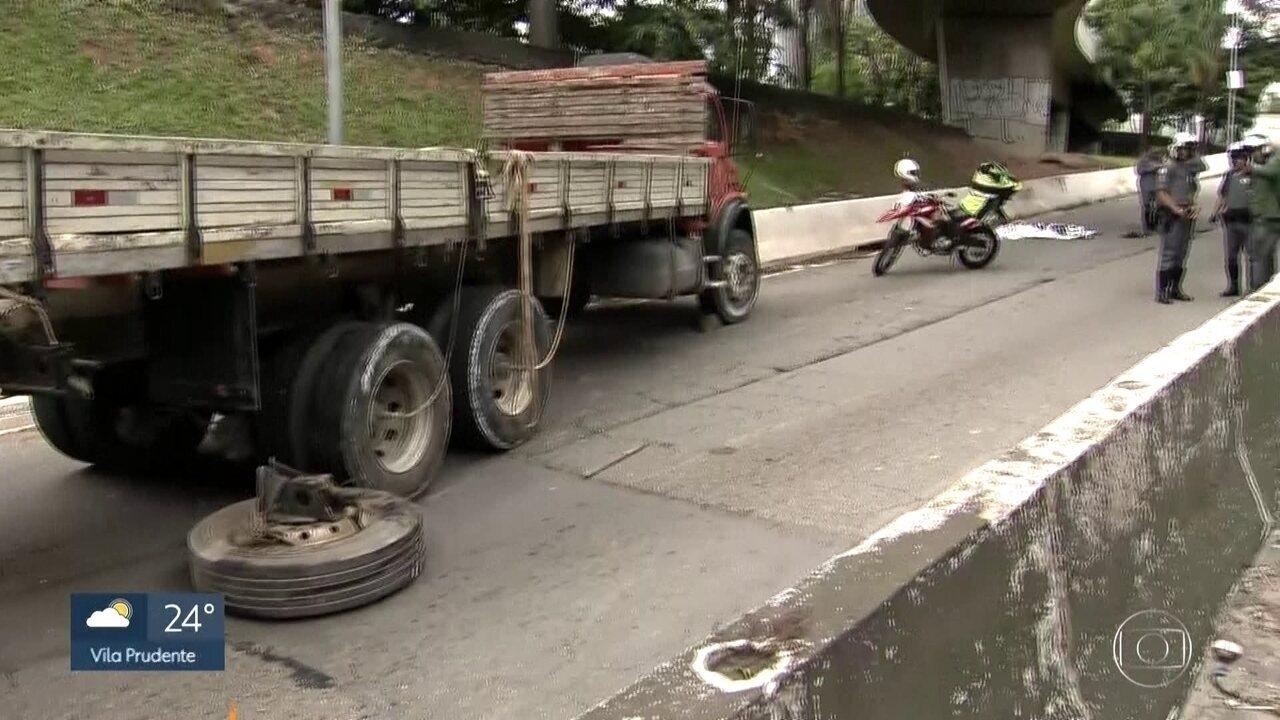 Acidente na Ponte do Morumbi deixa um morto