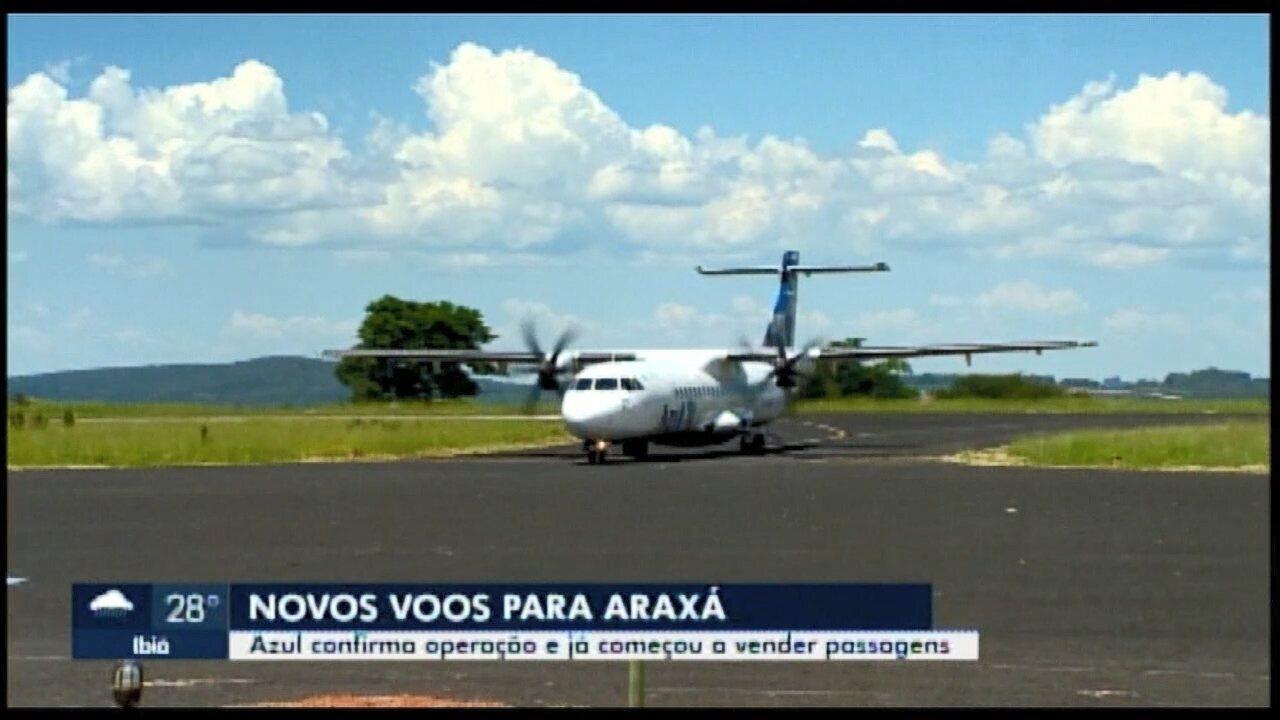 Em Araxá, Aeroporto Romeu Zema terá mais voos a partir de fevereiro