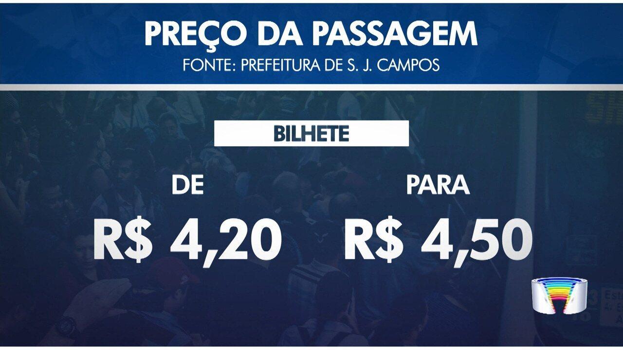 Justiça autoriza Prefeitura de São José dos Campos a reajustar passagem de ônibus