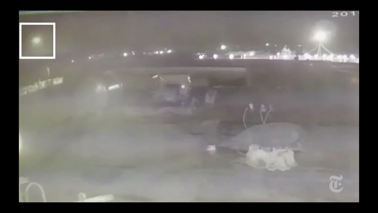 Vídeo mostra segundo míssil atingindo avião ucraniano no Irã