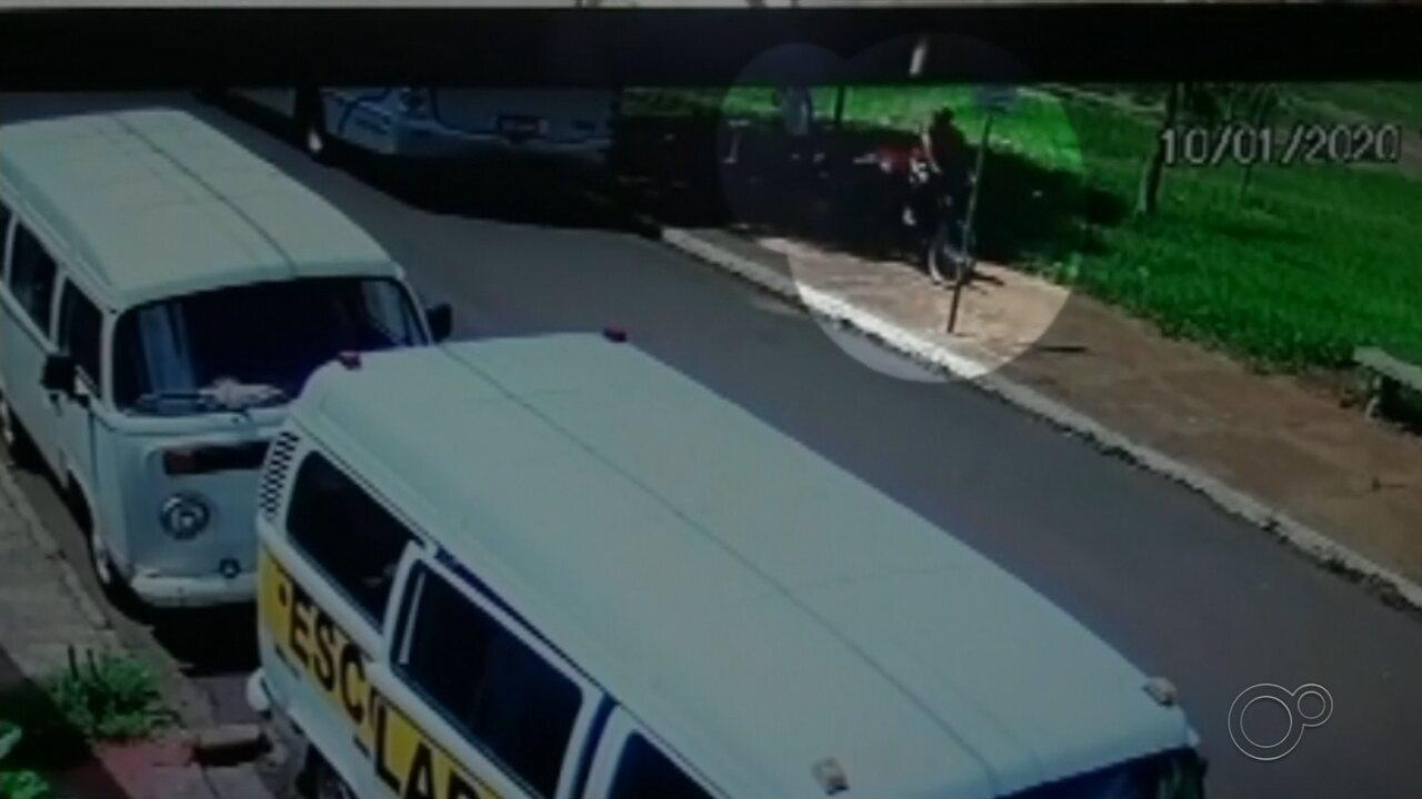 Câmera registra abordagem de suspeito antes de menina sumir e ser achada morta