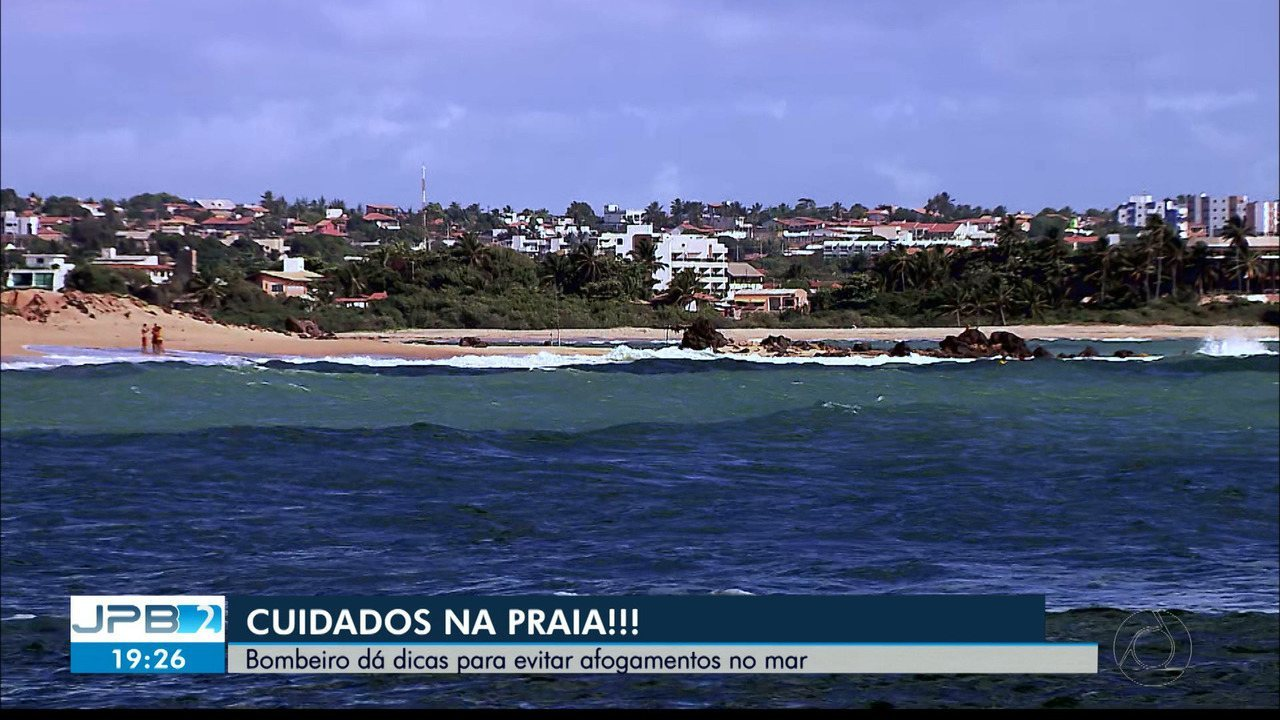 JPB2JP: Homem morreu afogado hoje à tarde no Litoral Sul da Paraíba