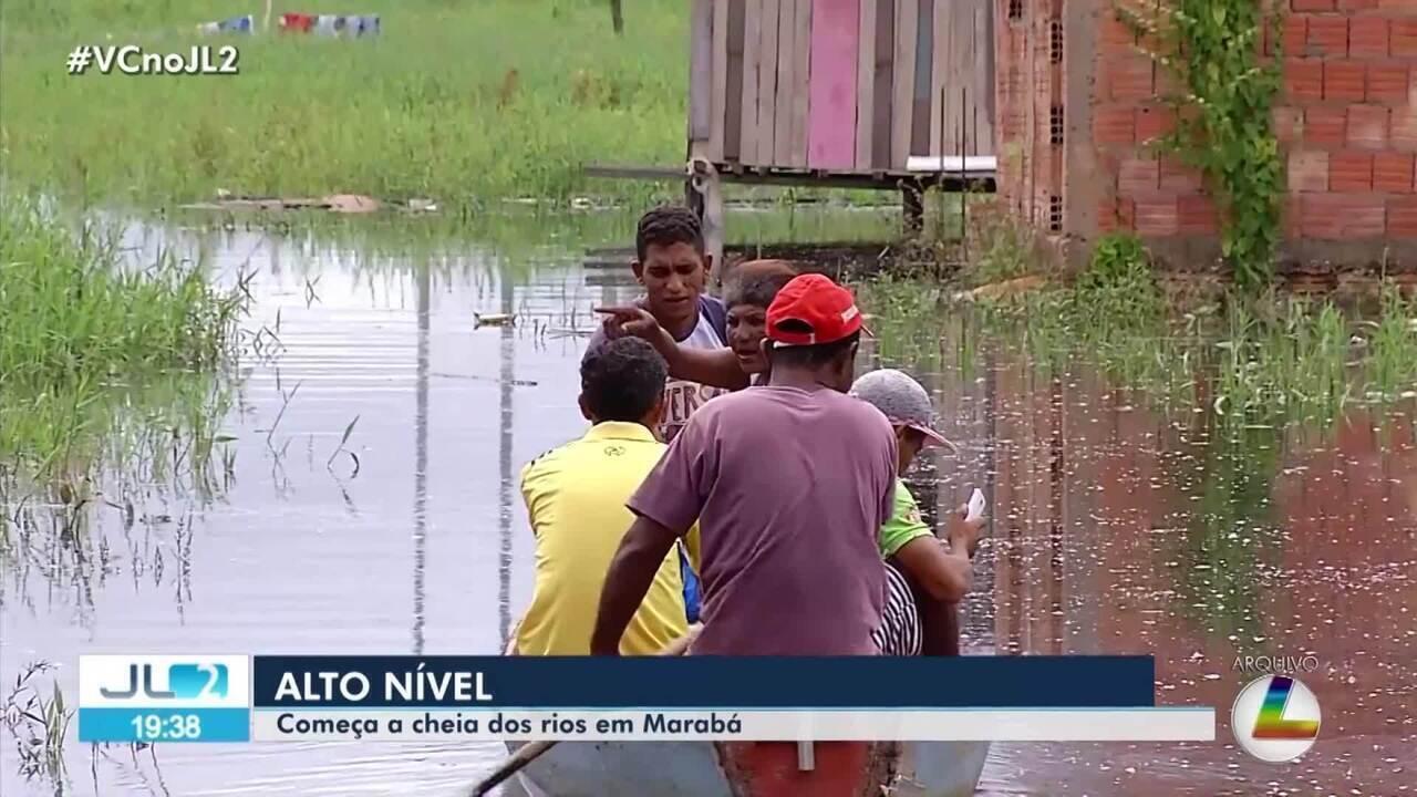 Início das chuvas já acende alerta em Marabá, no sudeste do Pará