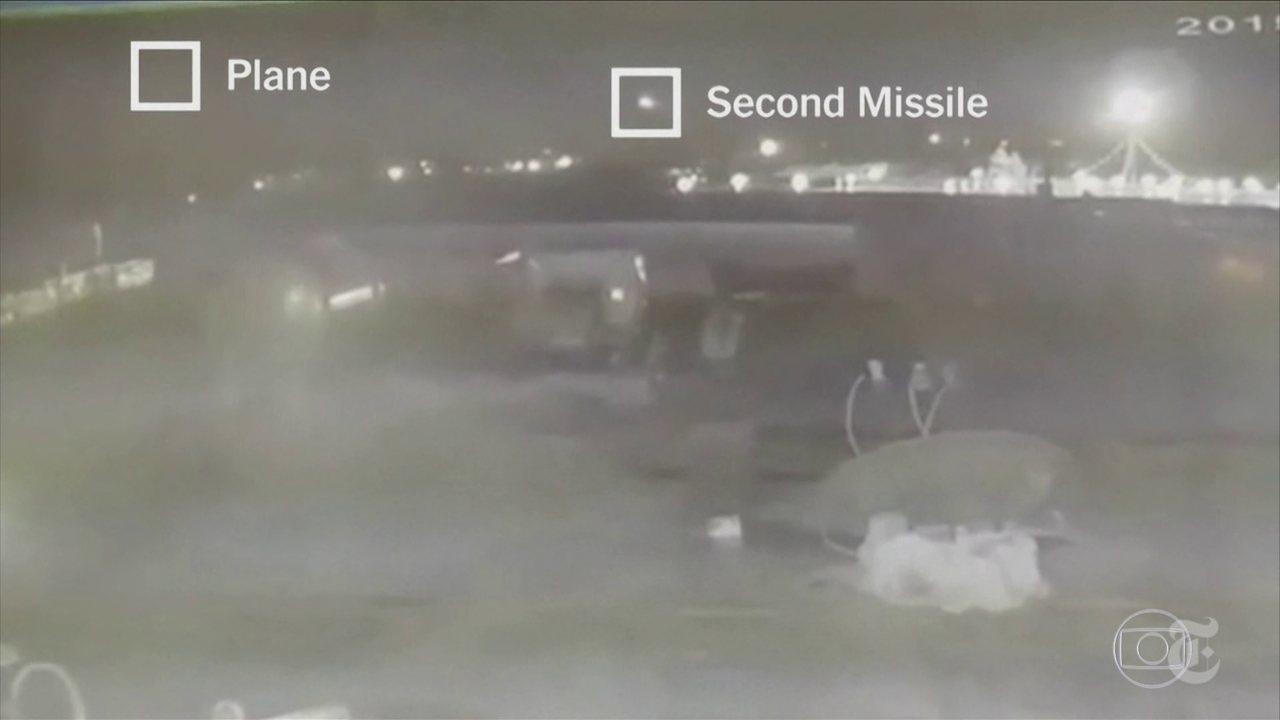 Novas imagens mostram momento da derrubada do Boeing da Ukraine Airlines em Teerã