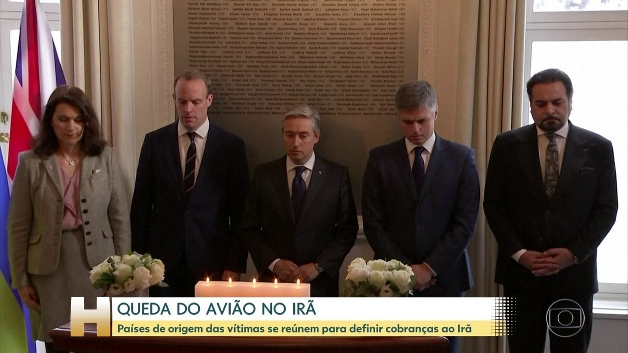 Países das vítimas da queda do avião da Ukraine Airlines pedem investigação transparente
