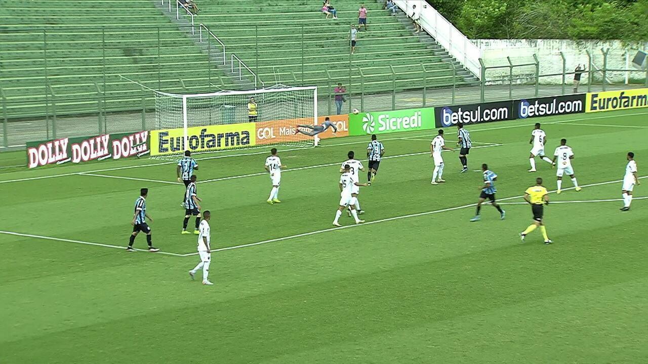 Melhores momentos: Grêmio 4 x 1 Atlético-MG pelas oitavas da Copa SP de Futebol Júnior