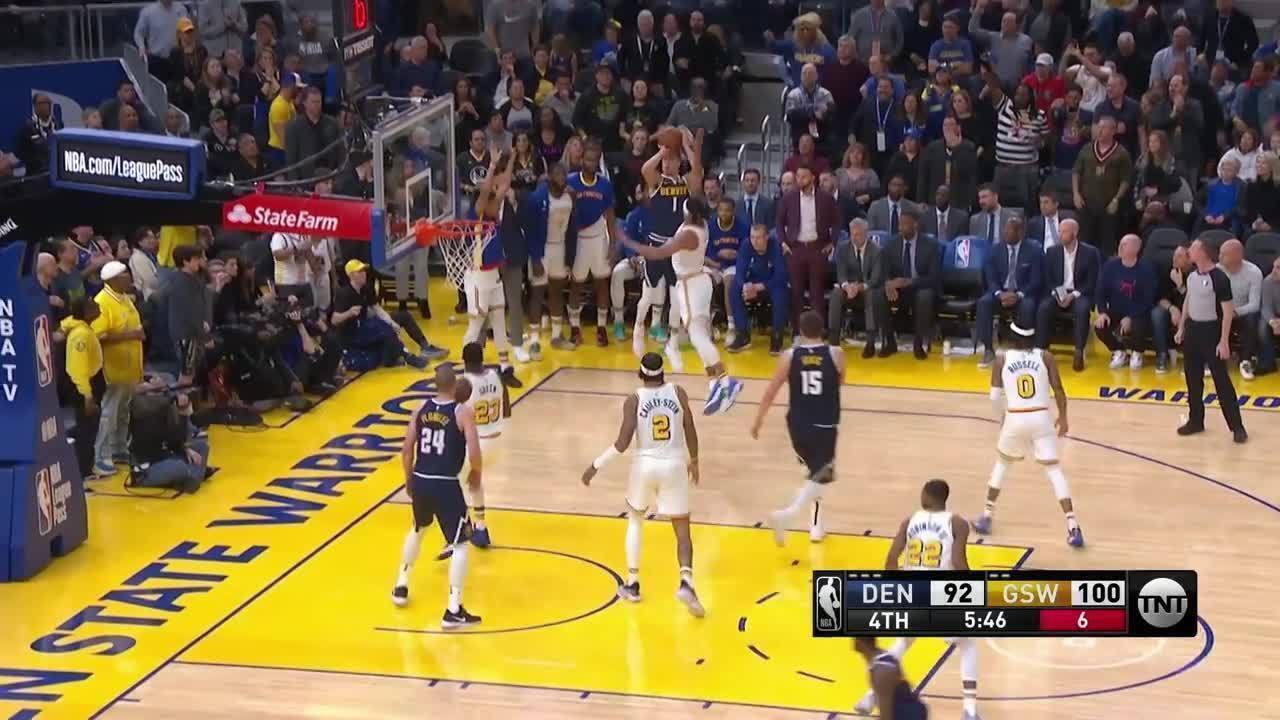 Melhores momentos de Denver Nuggets 134 x 131 Golden State Warriors pela NBA