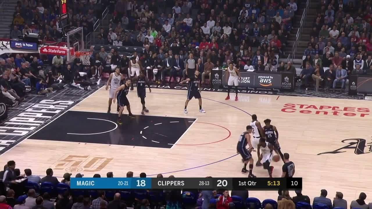 Melhores momentos de Los Angeles Clippers 122 x 95 Orlando Magic pela NBA