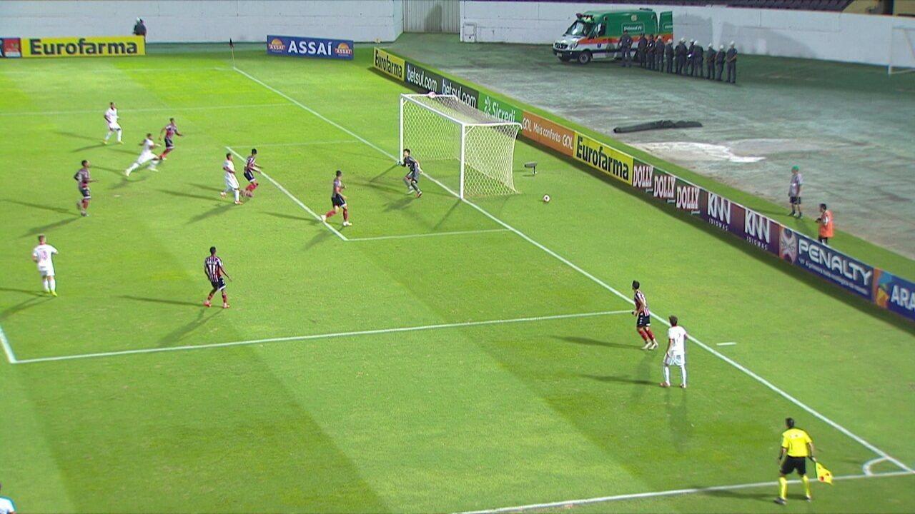 Melhores momentos: Botafogo-SP 0 x 2 Internacional pelas quartas da Copa SP de Futebol Júnior