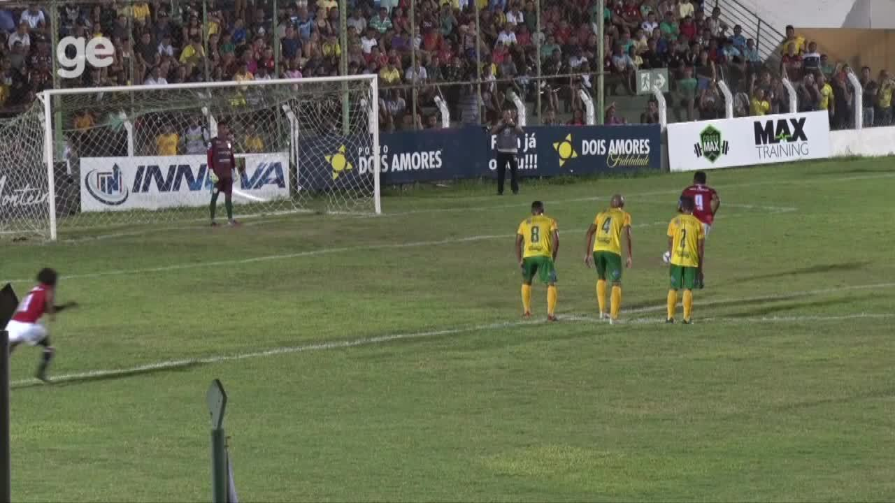Eduardo marca o primeiro gol do Campeonato Piauiense 2020