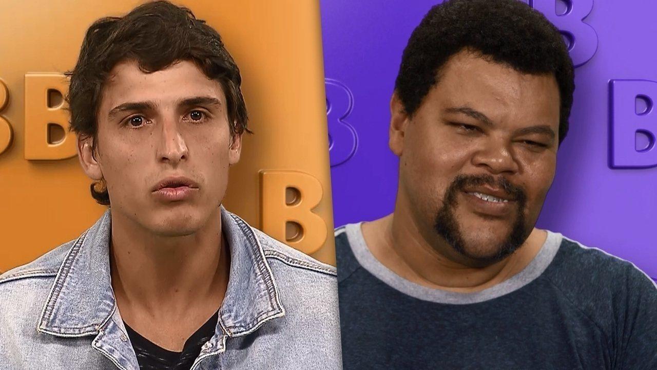 Felipe e Babu Santana são participantes do BBB20