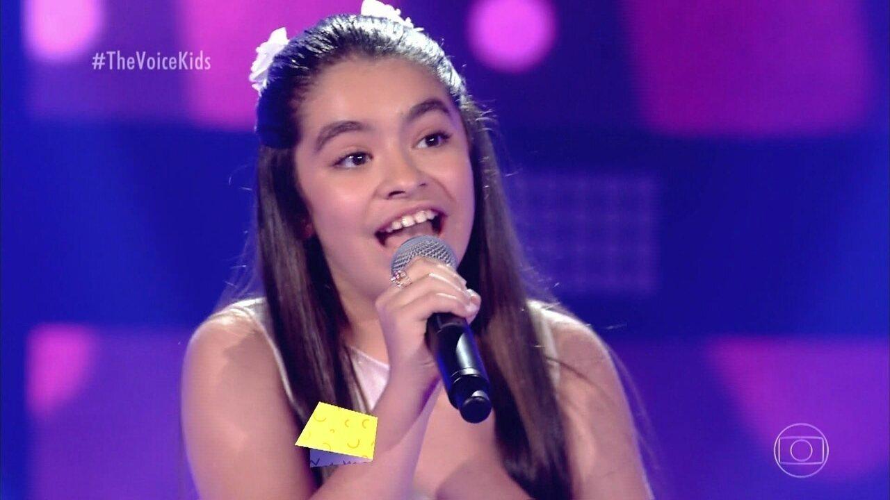 Mari Lima canta 'Um mundo Ideal (A Whole New World)' nas Audições às Cegas
