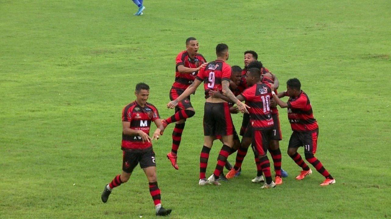 Os gols de Flamengo-PI 2 x 0 Parnahyba pela primeira rodada do Piauiense