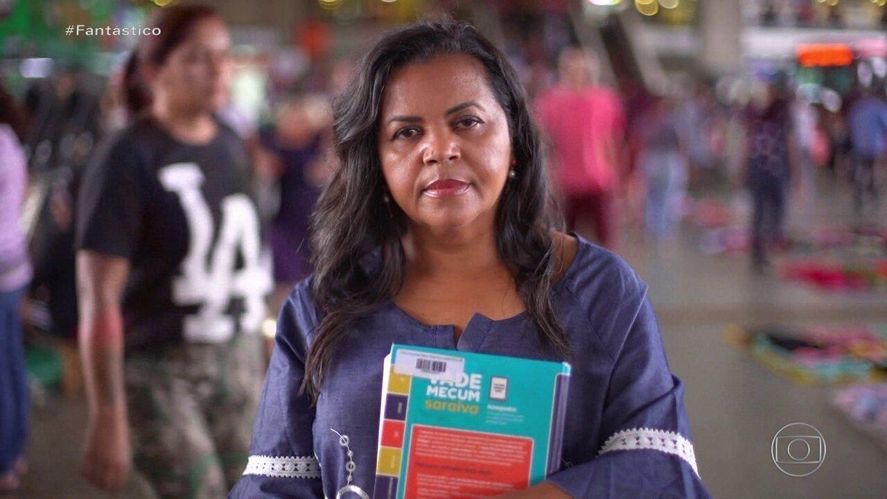 Mulheres Fantásticas: ex-catadora de amendoim monta seu negócio e se forma em Direito