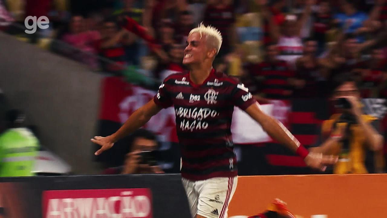 Confira os gols de Reinier na campanha do título brasileiro do Flamengo