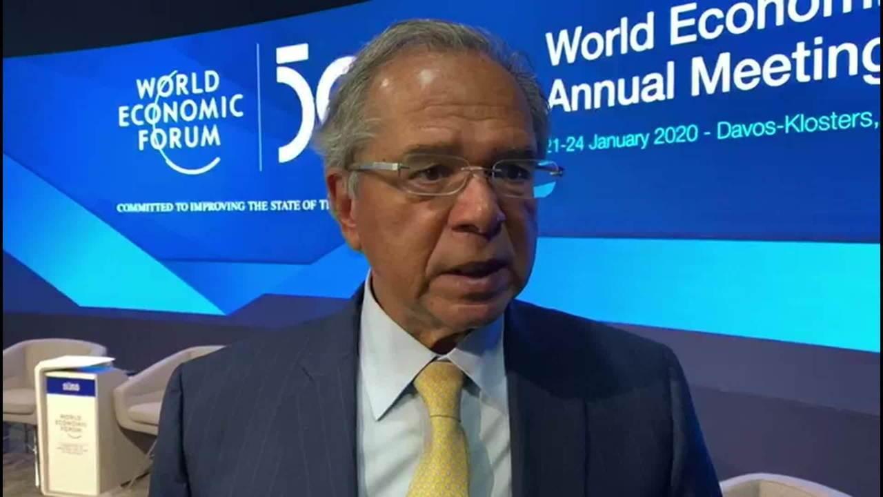 Guedes: Brasil está retomando crescimento econômico sustentável