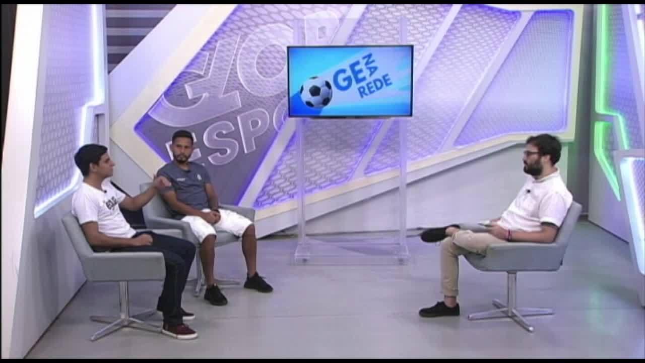GE na Rede entrevista o meia Lukinha, do Remo