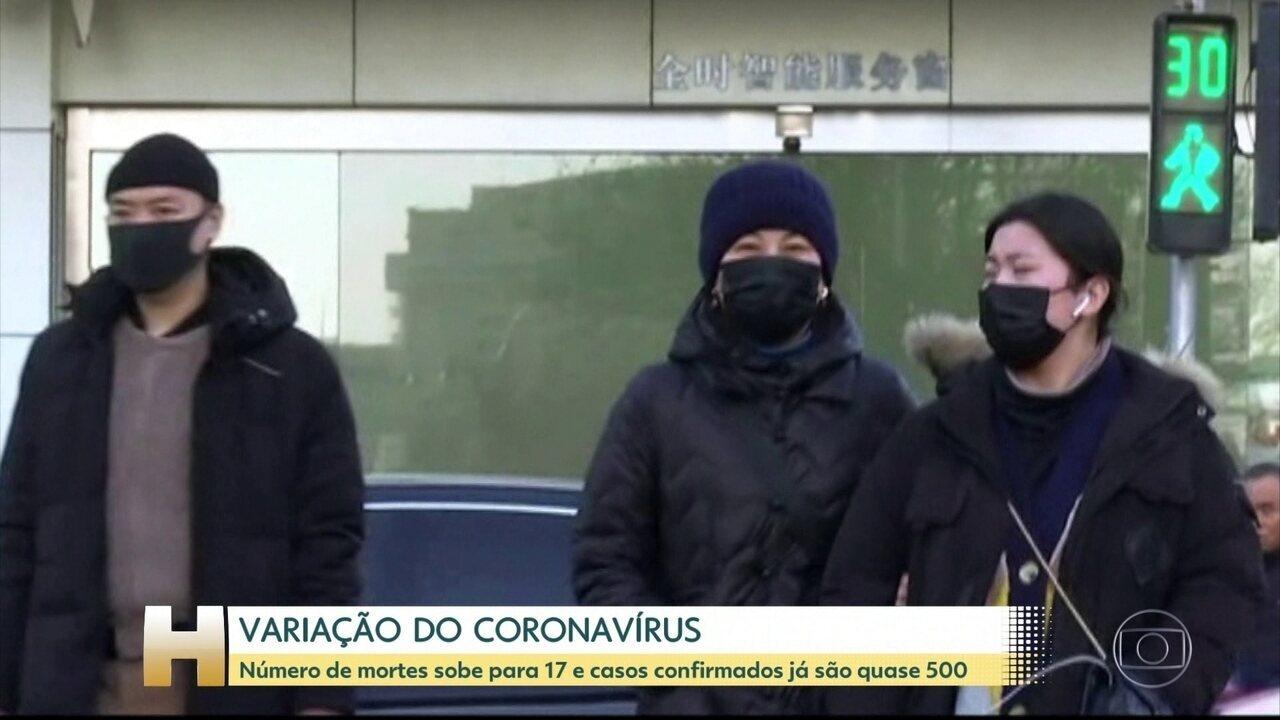 Número de mortes pelo novo coronavírus sobe para 17 e OMS vai fazer reunião